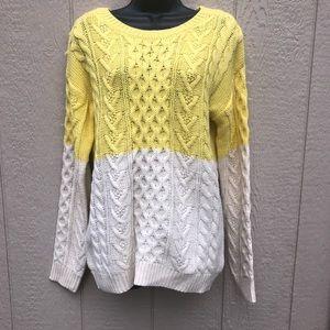 F21 Contemporary sweater size M